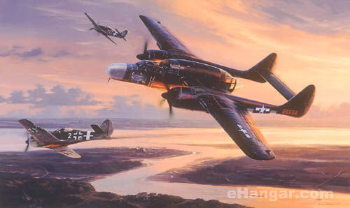 Aviation Art - Twilight Conquest by Nicolas Trudgian