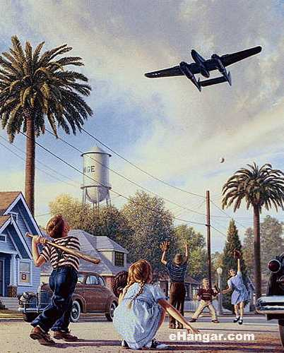Aviation Art - The Spider And The Fly by Stan Vosburg