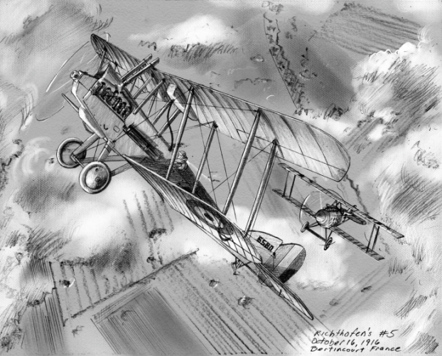 Richthofen's Sixth Aerial Victory image