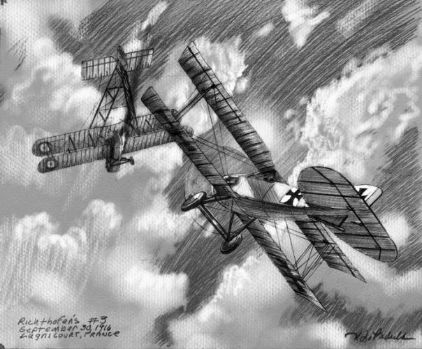 Richthofen's Third Aerial Victory image
