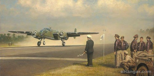 Aviation Art - Release Your Brakes and Hunt for Heaven by William S. Phillips